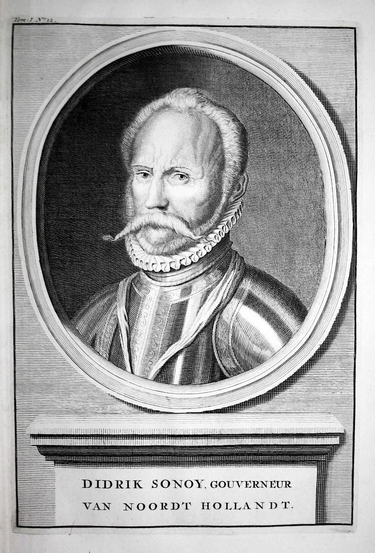 Didrik Sonoy, Gouverneur van Noordt Hollandt - Diederik Sonoy Niederlande Nederland soldier Feldherr Portrait 0