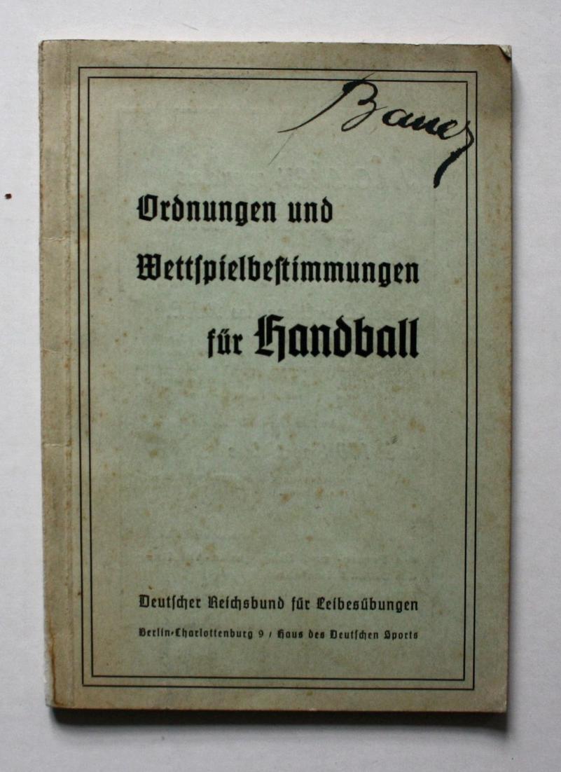 Ordnungen und Wettspielbestimmungen für Handball