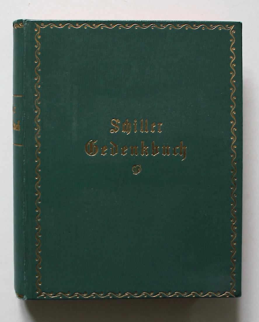 Schiller-Gedenkbuch.