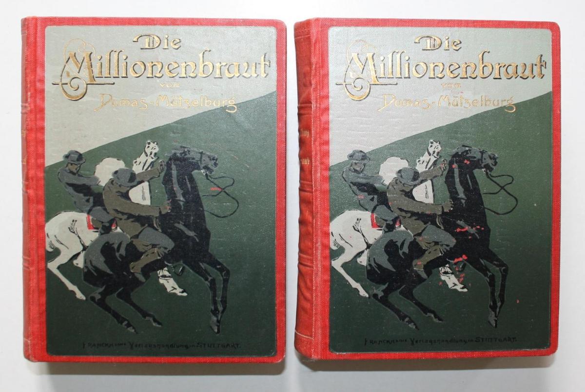 Die Millionenbraut. Fünfte Auflage. 4 Teile in 2 Bänden.