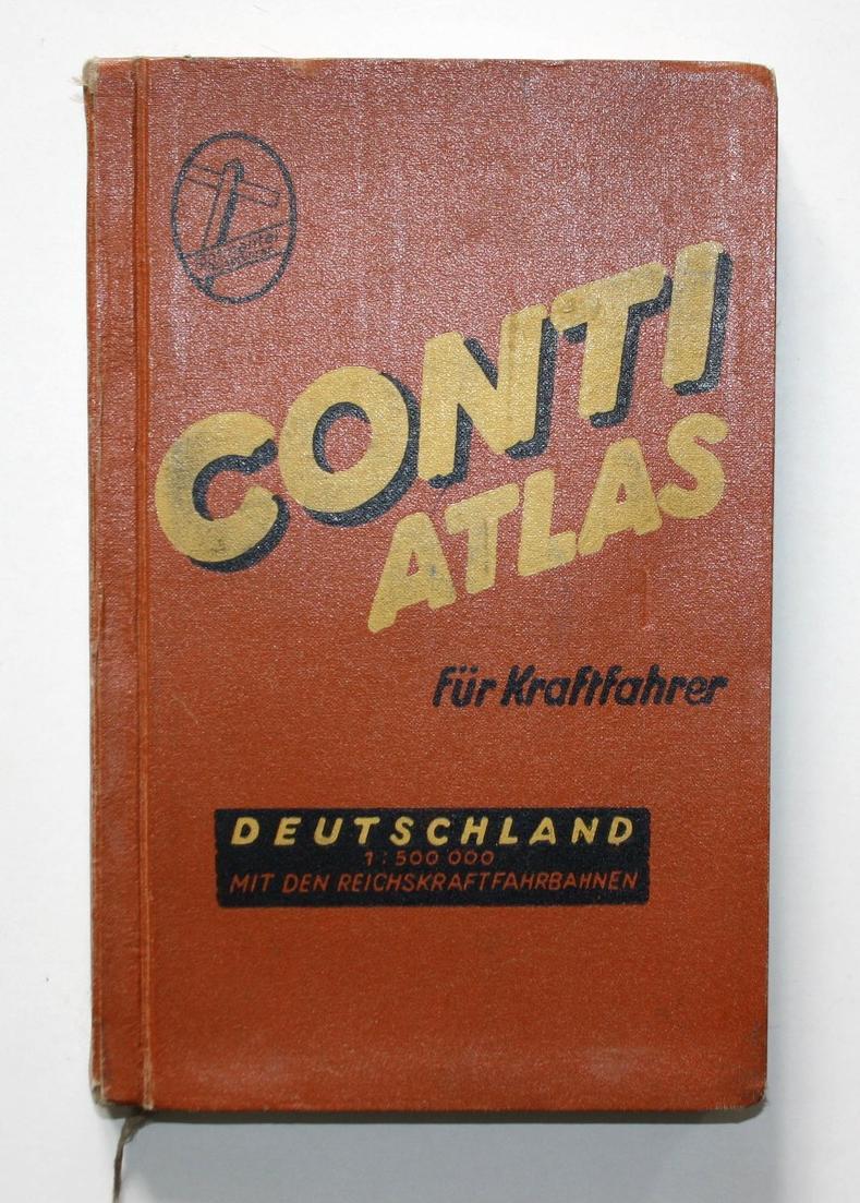 Conti Atlas für Kraftfahrer. Deutschland.