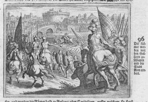 Die Römer werden von den Galliern geschlagen und die Stadt Rom erobert - Rom Gallier Römer Eroberung Rome conq