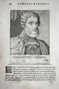 Marcantonio Colonna Marcantonio Colonna (1480-1522) -- Condottiero Italia