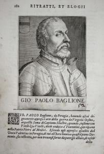 Gio Paolo Baglione Gian Paolo Baglioni (1470-1520) -- Perugia Italia Condottiero