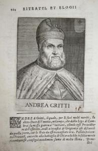 Andrea Gritti Andrea Gritti (1455-1538) -- Doge Venezia Venice Italia