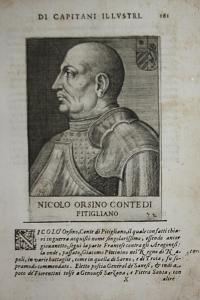 Nicolo Orsino Contedi Pitigliano Niccolo Orsini (1442-1510) -- Pitigliano Condottiero Italia