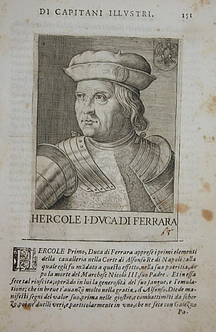 Hercole I DVCA DI Ferrara Ercole I d'Este (1431-1505) -- Ferrara Modena Reggio 0