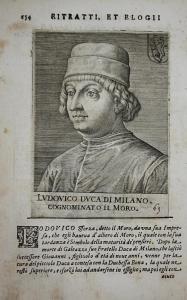 Lvdovico Dvca Di Milano Ludovico Sforza (1452-1508) -- il Moro Milano Italia