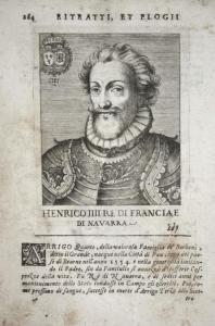 Henrico IIII Re Di Franciae Di Navarra Henri IV (1589-1610) -- King France Poi Navarre Bourbon