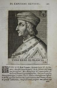 Lvigi XII RE Di Francia Louis XII of France (1462-1515) -- Roi King König Frankreich