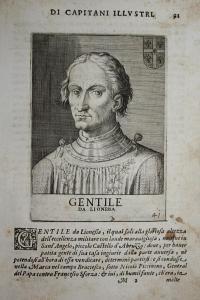 Gentile Da Lionessa  Gentile da Leonessa (1408-1453) -- Montegiove Condottiero