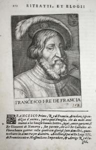 Francesco I RE DE Francia Francois I (1494-1547) -- France Roi King Francis Italia