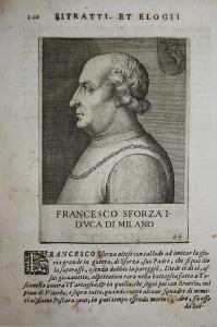 Francesco Sforza I DVCA di Milano  Francesco I (1401-1466) -- Sforza Milano San Miniato Pisa