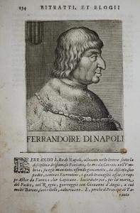Ferrandoi Re Di Napoli  Ferdinando I di Napoli (1424-1494) -- König King Naples Neapel