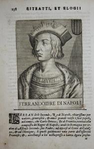Ferrando II RE di Napoli  Ferdinando II di Napoli (1469-1496) -- König King Naples