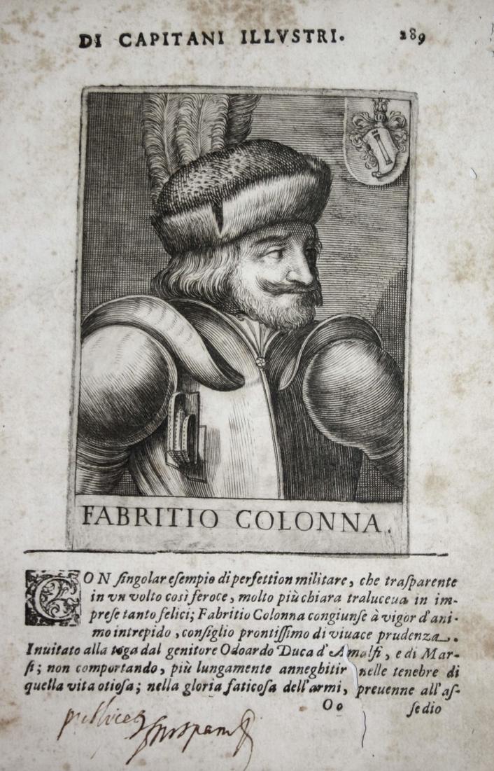 Fabritio Colonna  Fabrizio Colonna (1450-1520) -- Condottiero Montefeltro Urbino 0