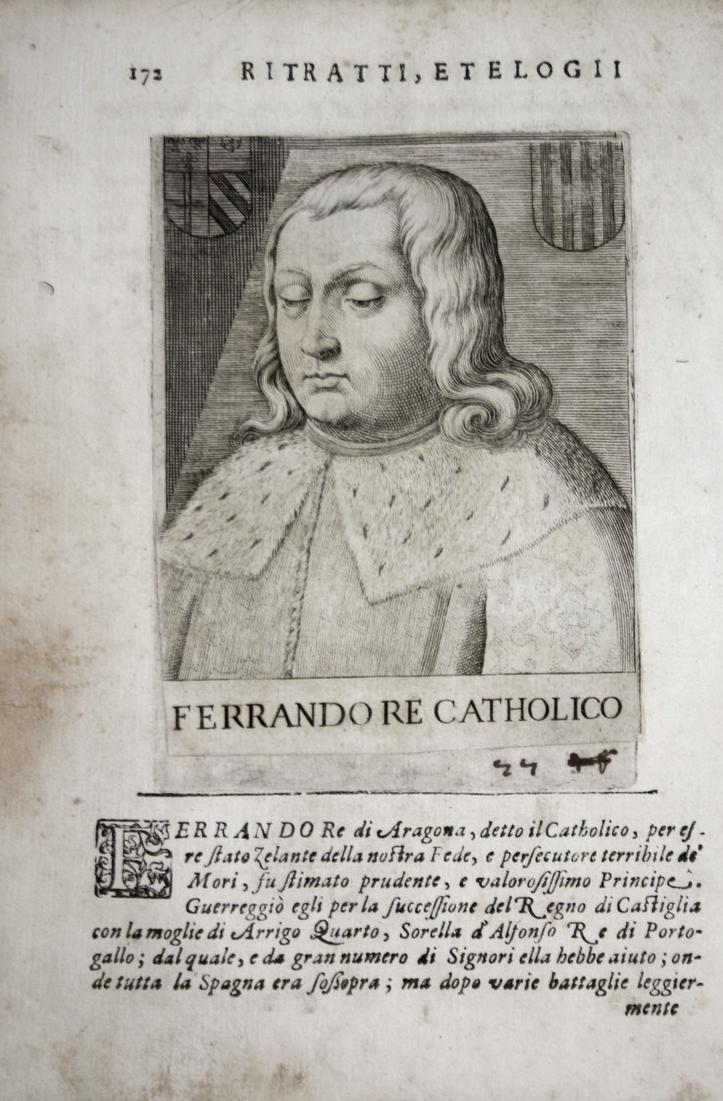 Ferrando Re Catholico  Fernando II de Aragon (1452-1516) -- Castilla Sicilia Cerdena Navarra 0