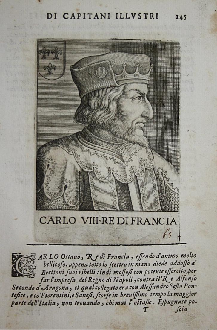 Carlo VII Re Di Francia  Charles VII  (1470-1498) -- France King Roi König Frankreich 0