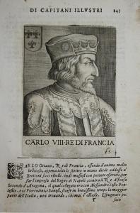 Carlo VII Re Di Francia  Charles VII  (1470-1498) -- France King Roi König Frankreich
