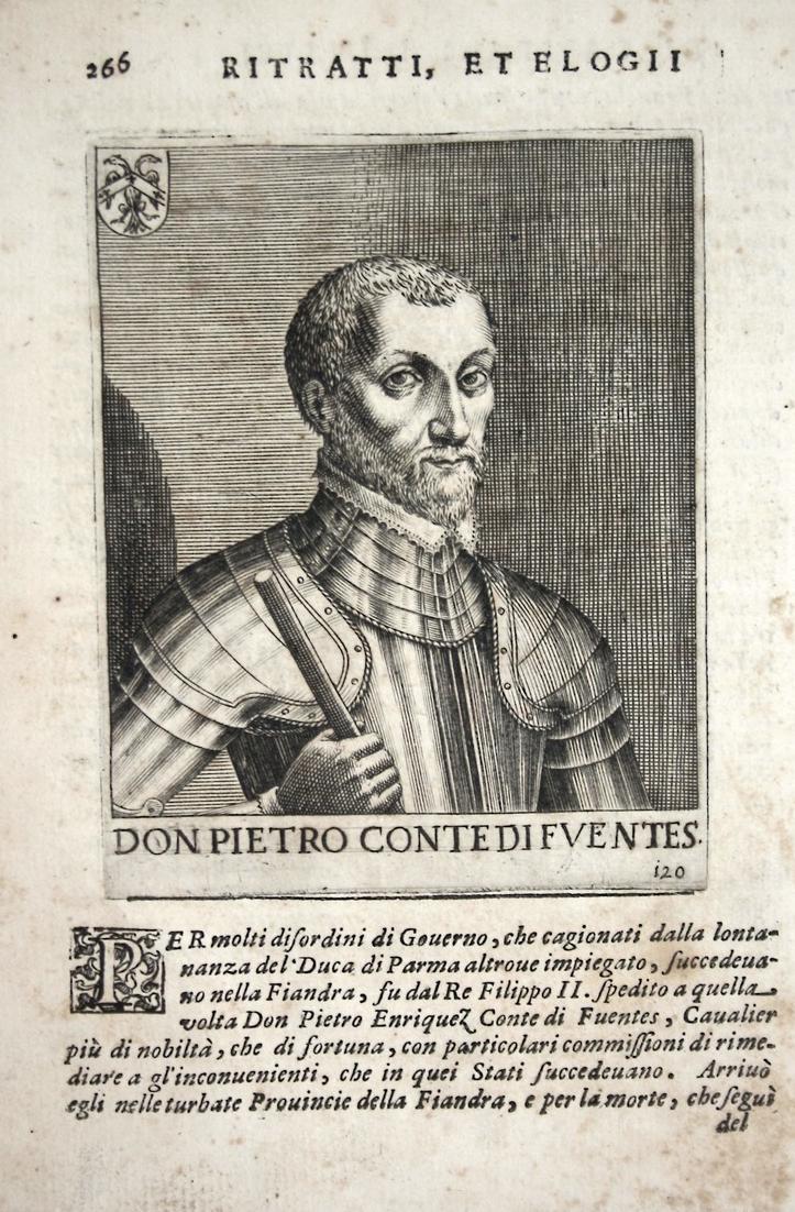 Don Pietro Contedifventes Pedro Hennquez (1525-1610) -- de Acevedo Fuentes Toledo 0