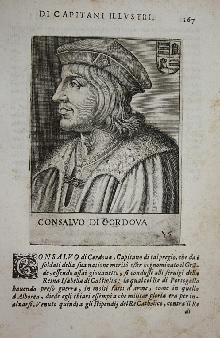 Consalvo Di Cordova Gonzalo Fernandez de Cordoba (1453-1515) -- Aguilar Santangelo Terranova Andria Montalto S 0