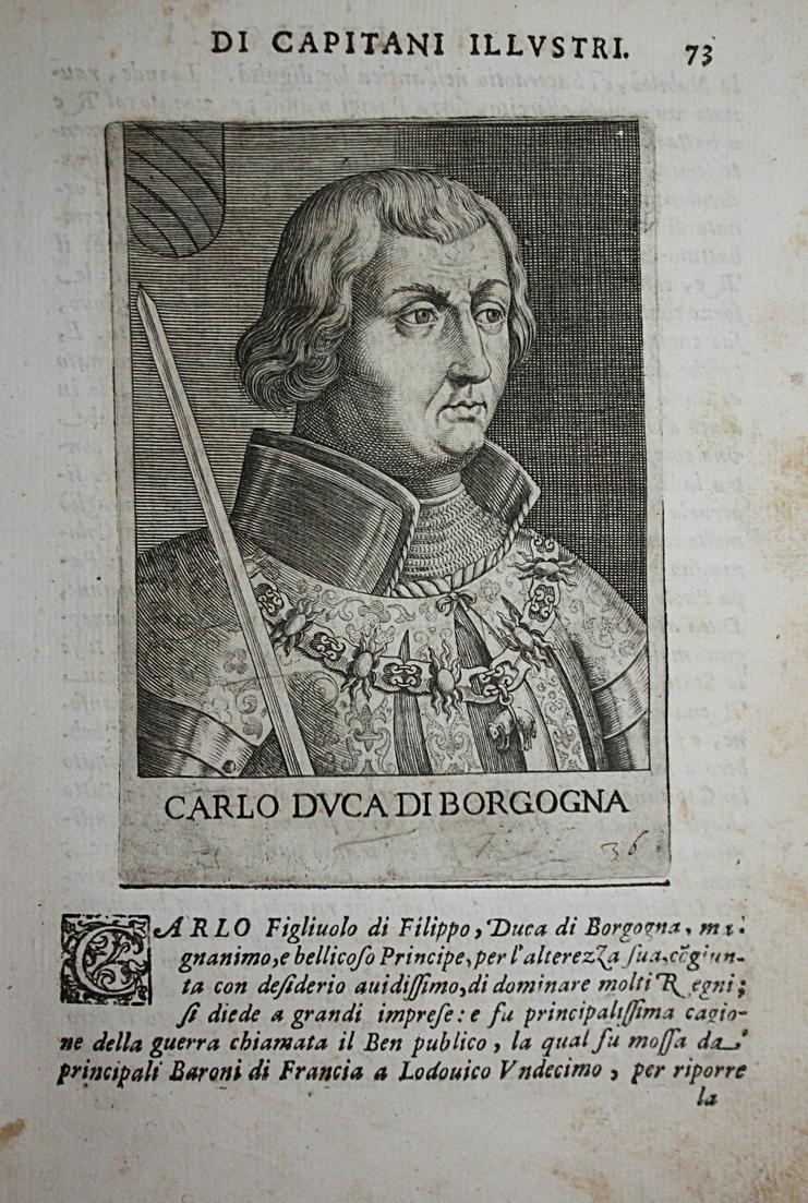 Carlo DVCA Di Borgogna Charles le Temeraire (1433-1477) -- Bourgogne Valois Burgundy 0