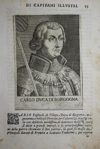 Carlo DVCA Di Borgogna Charles le Temeraire (1433-1477) -- Bourgogne Valois Burgundy