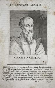 Camillo Orsino Camillo Orsini (1492-1559) -- Marchese d'Atripalda Italia