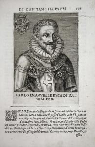Carlo Emanvelle DVCA DI SA VOIA Carlo Emanuele I (1580-1630) -- di Savoia Piemonte Aosta Moriana