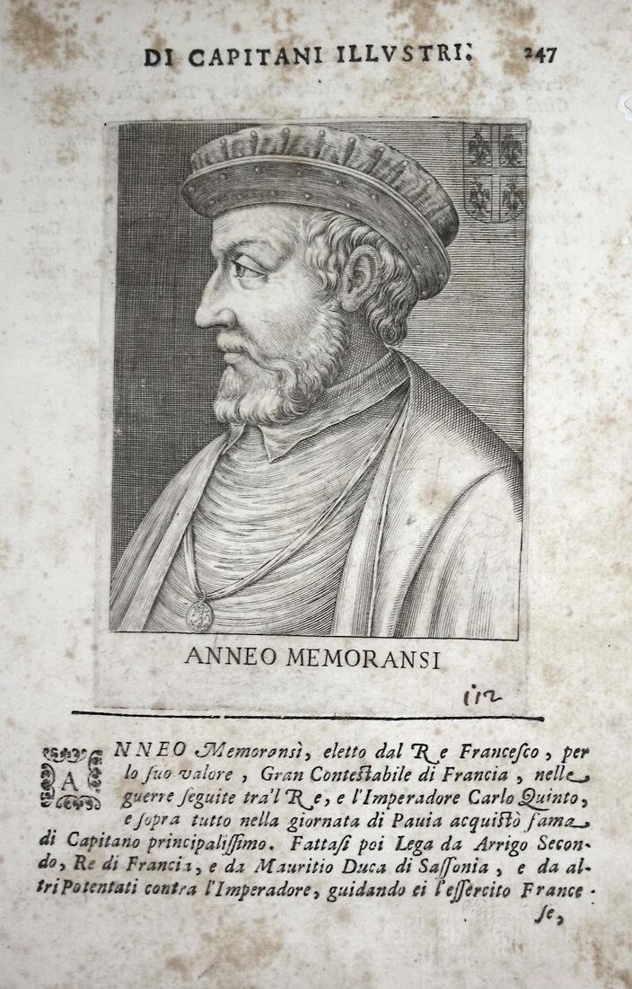 Anneo Memoransi  Anne de Montmorency (1493-1567) -- Pair Chantilly Baux Italia 0