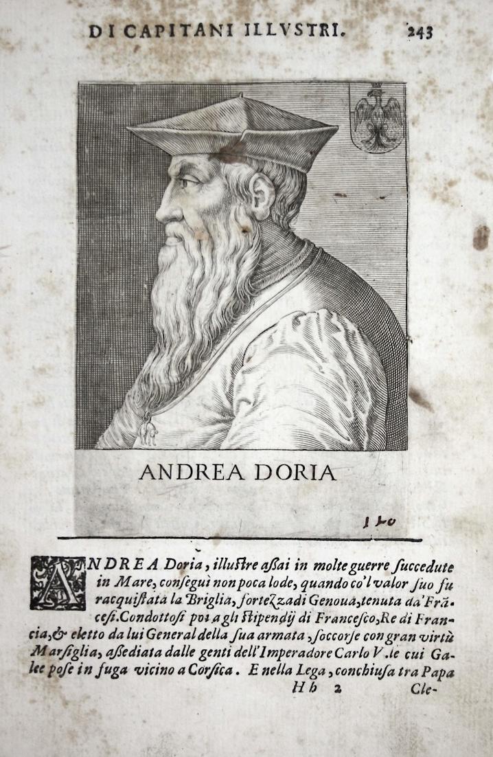 Andrea Doria Andrea Doria (1466-1560) -- Melfi Genova Oneglia Italia 0