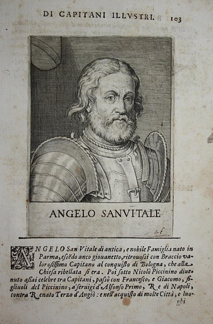 Angelo Sanvitale Angelo di San Vitale (    -1467) -- Parma Belforte Noceta 0