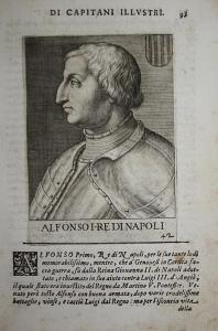 Alfonso I RE DI Napoli  Alfonso V d'Aragona (1396-1458) -- Valencia Sardegina Napoli Sicilia