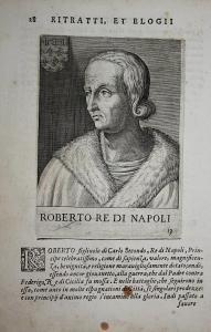 Roberto Re Di Napoli Roberto d'Angio Napoli (1277-1343) -- Calabria Provenza