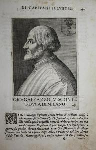 Gio Galeazzo Visconte I DVCA di Milano Gian Galeazzo Visconti Milano (1351-1402) -- Crema Cremona Bergamo Bres