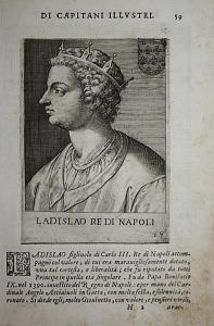 Ladislao re di Napoli Ladislav Napuljski Napoli (1377-1414) -- Sicilia Croatia Hungary Taranto