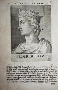 Federigo II IMP Federico II di Svevia (1194-1250) -- Friedrich Kaiser Sicilia Sizilien