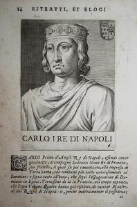 Carlo I Re Di Napoli Carlo I d'Angio Napoli (1226-1285) -- Acaia Sicilia Albania Morea