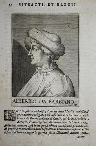 Alberigo Da Barbiano Alberico da Barbiano (1348-1409) -- Cotignola Cunio Trani Condottiero