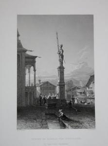 Statue of Arnold von Winkelreid Statue of Arnold von Winkelreid Denkmal des Arnold von Winkelried Kanton Unter