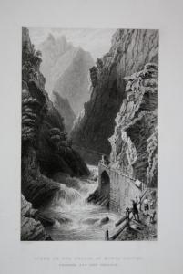 Scene on the Tessin, at Monte Piotino Monte Piottino Monte Piottino Schlucht Kanton Tessin Schweiz Switzerland