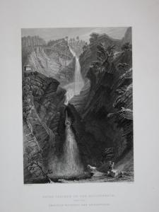 Upper Cascade of the Reichenbach Reichenbachfall Cascate Reichenbach Cascate Reichenbachs Kanton Bern Schweiz
