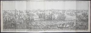 Wahre Abbildung der Mächtigen Seeschlacht, so sich zwischen den Hispanischen und Holländischen Schiffarmata in