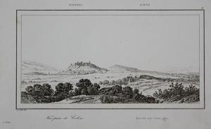Vue prise de Colone - Athen Athens Greece Griechenland Ansicht view Stahlstich steel engraving antique print