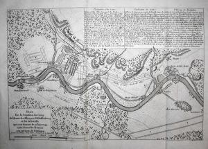 Schlacht bei Dettingen, anno 1743, Theatrum Europaeum 1750