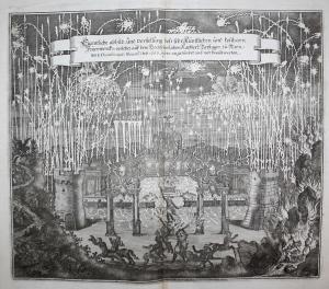 Eigentliche Abbild und Vorstellung dess sehr künstlichen und kostbarn Feuerwercks, welches auf dem hochfeyerli