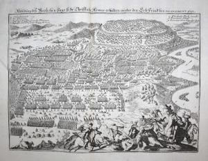 Abbildung deß herzlichen Siegs, so die Christliche Armee erhalten wieder den Erbfeind bey Salankement, 1691 -