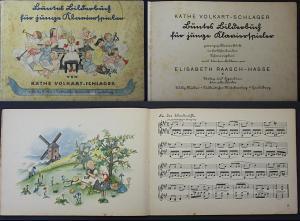 Buntes Bilderbuch für junge Klavierspieler. Zwanzig Klavierstücke in fortschreitender Schwierigkeit.