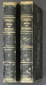 Parerga und Paralipomena. Kleine philosophische Schriften. Vierte Auflage. - 2 Bände.