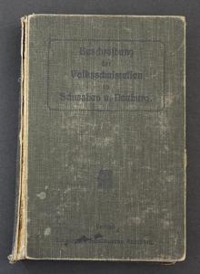 Beschreibung der Volksschulstellen in Schwaben und Neuburg. 2. Band
